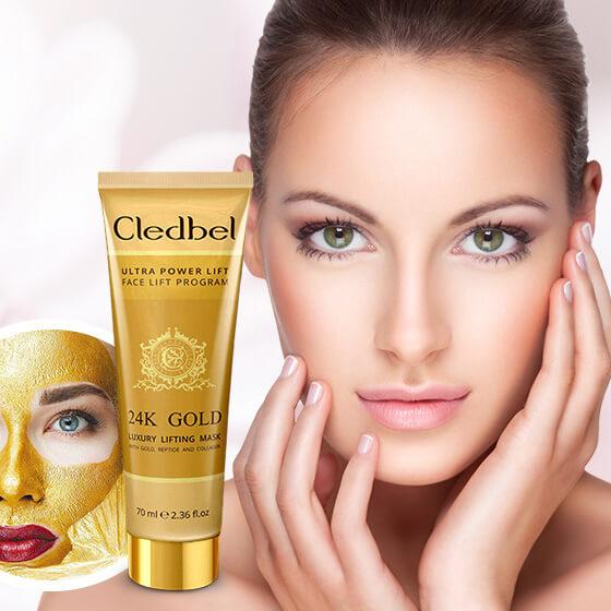 Маска-пленка Cledbel 24K Gold купить в Антонинах