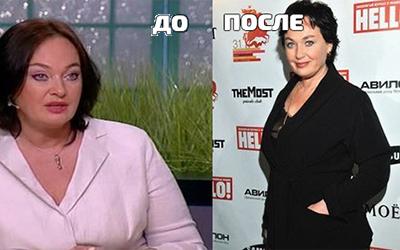 Раскрыт секрет похудения Ларисы Гузеевой