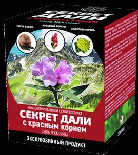 «Секрет Дали» с красным корнем от простатита