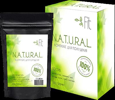 Порошок-блокатор калорий NATURAL Fit