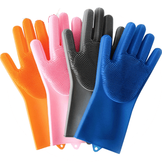 Перчатки-губки (щетки) Magic Brush купить в Алущевске