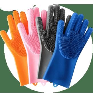Перчатки-губки (щетки) Magic Brush купить в Абакане