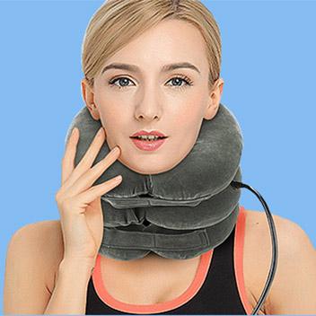 Вытягивающая ортопедическая надувная подушка OSTIO