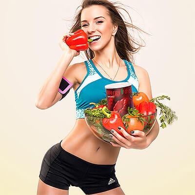 Малиновый диетический коктейль Energy Diet Ultra купить в Абом