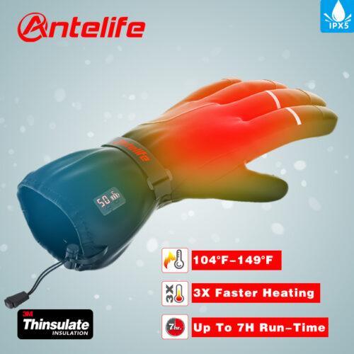 Перчатки с подогревом Antelife G1 купить в Абакане