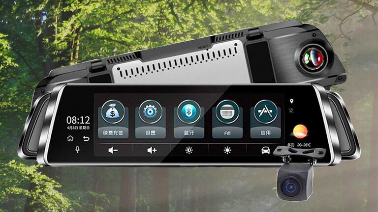 Зеркало-видеорегистратор AUTOECHO G07 с поддержкой 4G купить в Анопино