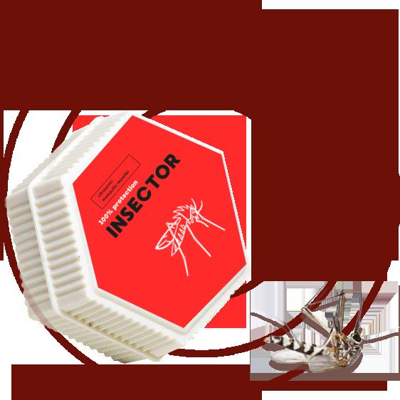 Insector (อินเซคเตอร์) ช่วยป้องกันยุงลายได้ ซื้อ