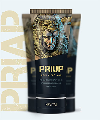 Крем «PriUp» для увеличения члена купить
