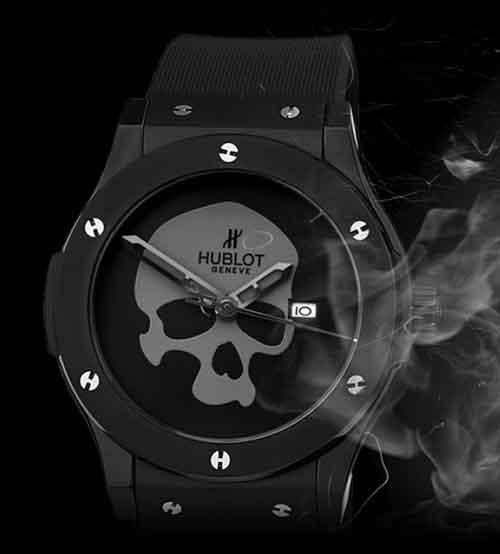 Часы HUBLOT Skull Bang купить