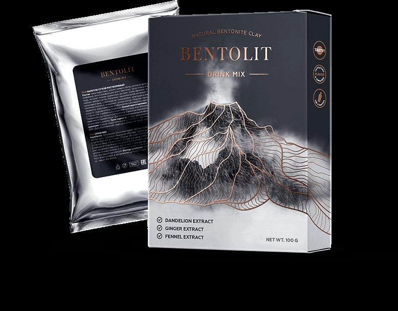 Bentolit для похудения с вулканической глиной купить в Антонинах