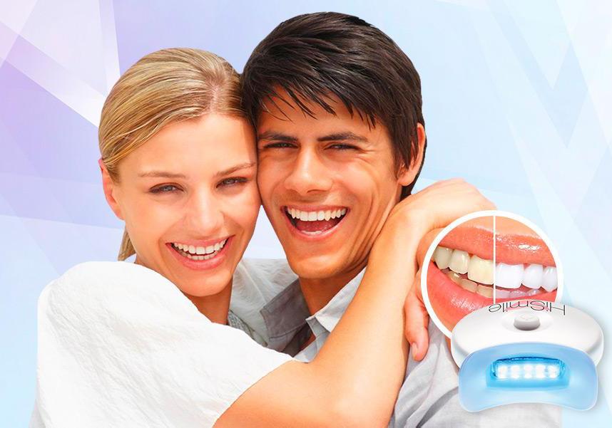 Домашнее отбеливание зубов HiSmile купить в Амбарном