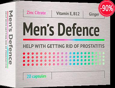 Простатиттен «Mens Defence» Абакан сатып алу