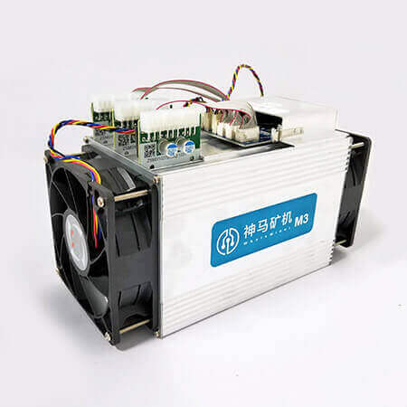 WhatsMiner M3 miner 12TH/s + WhatsPower P5 2200W купить в Абакане
