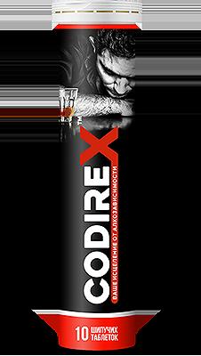 Препарат CODIREX против алкоголизма купить в Ижевске
