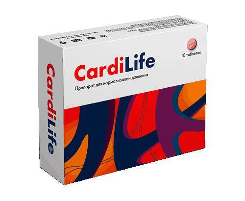 Cardilife от гипертонии купить в Абакане