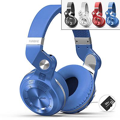 Беспроводные bluetooth наушники Bluedio T2+ купить в Абае