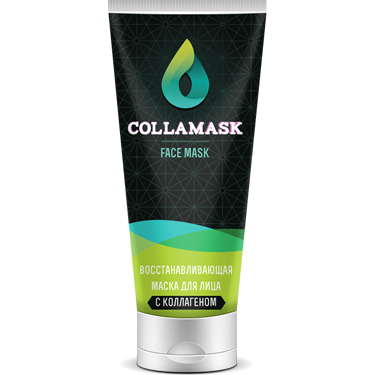 Омолаживающая крем-маска для лица COLLAMASK купить в Исфане
