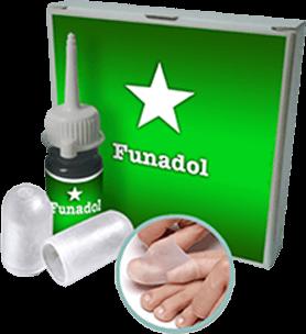 комплекс Funadol от грибка стоп и ногтей