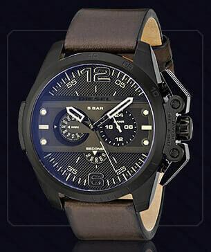 Элитные мужские часы DIESEL 5 BAR купить в Алущевске