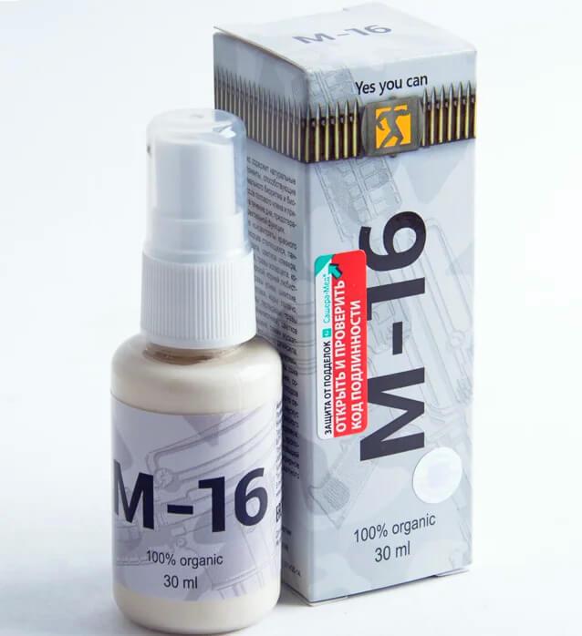 Спрей M-16 М16 для потенции купить в Абане