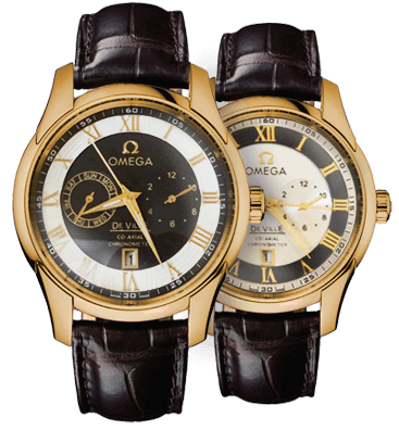 Элитные наручные часы Omega DeVille Chronograph купить