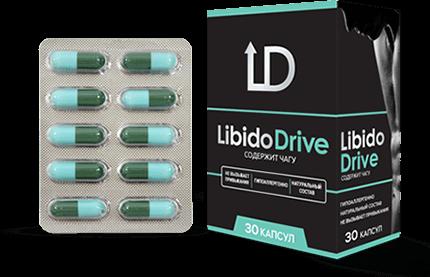 Капсулы Libido Drive Либидо Драйв для мужчин купить в Елово