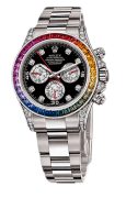 Часы Rolex White Gold Daytona Rainbow в Аарау
